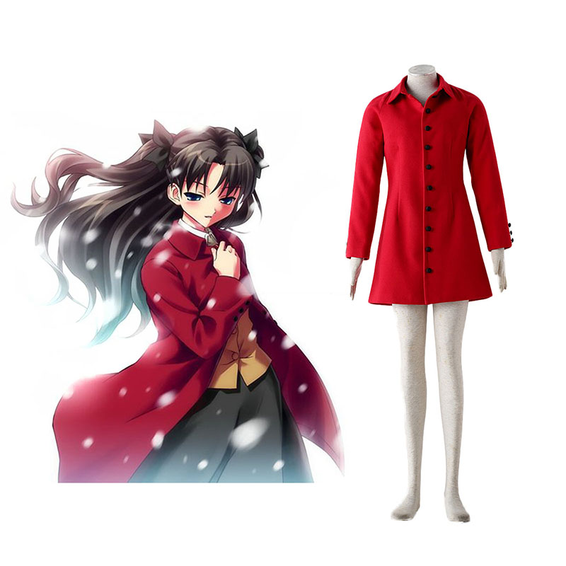 The Holy Grail War Tohsaka Rin 4 Rood Cosplay Kostuums Nederland