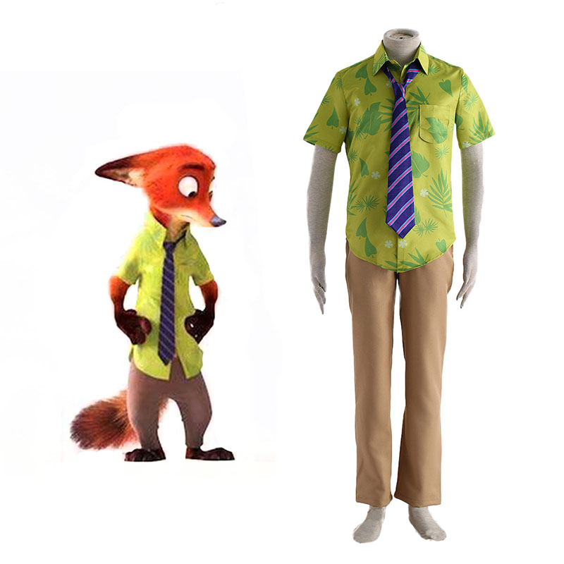 Zootopia Nick Normal Cosplay Kostuums Nederland