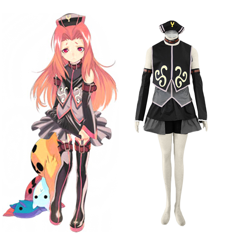 Tales of the Abyss Arietta 1 Cosplay Kostuums Nederland