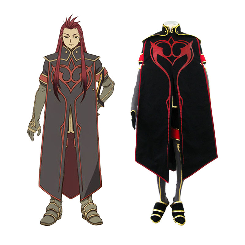 Tales of the Abyss Asch 1 Cosplay Kostuums Nederland