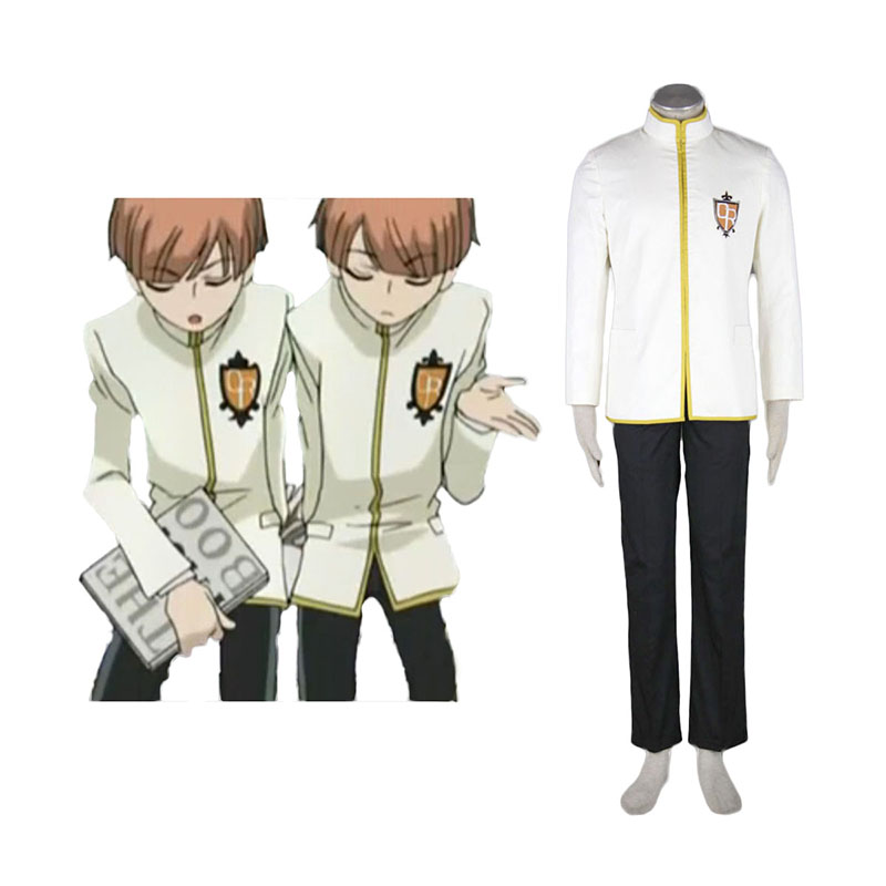 Ouran High School Host Club Male Uniformen Geel Cosplay Kostuums Nederland