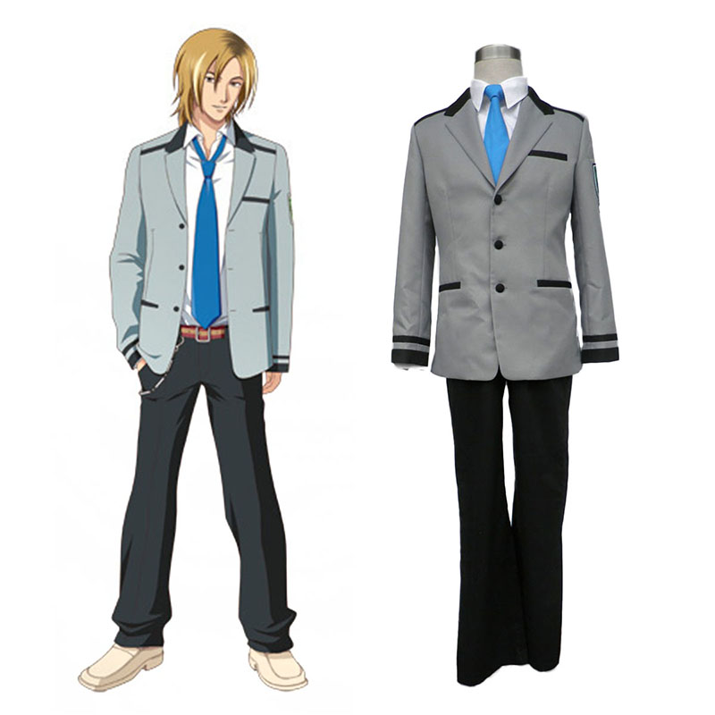 Tokimeki Memorial Girl's Side Male Schooluniform Cosplay Kostuums Nederland
