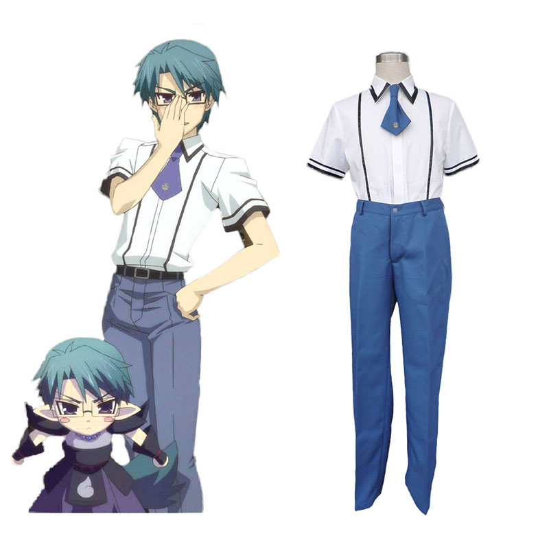 Baka and Test Male Schooluniform Cosplay Kostuums Nederland