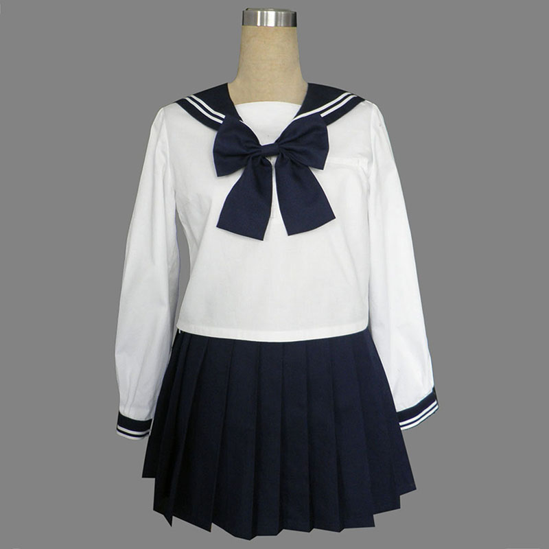 Long Sleeves Sailor Uniform 9 Cosplay Kostuums Nederland