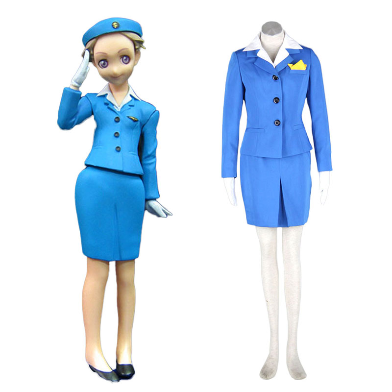 Aviation Uniform Culture Stewardess 1 Cosplay Kostuums Nederland