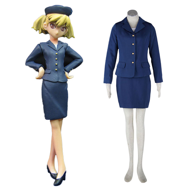Aviation Uniform Culture Stewardess 3 Cosplay Kostuums Nederland