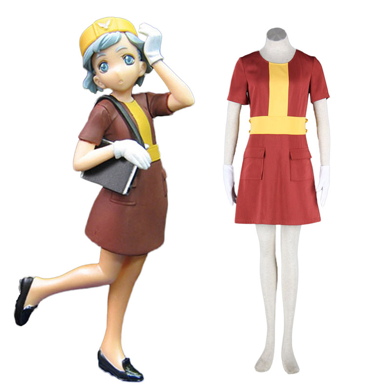 Aviation Uniform Culture Stewardess 4 Cosplay Kostuums Nederland