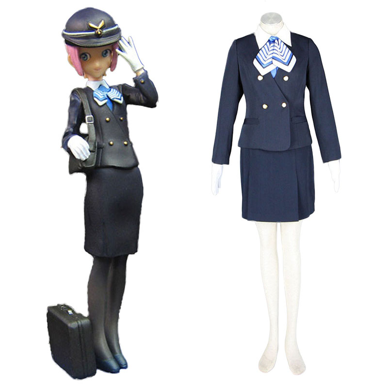 Aviation Uniform Culture Stewardess 7 Cosplay Kostuums Nederland