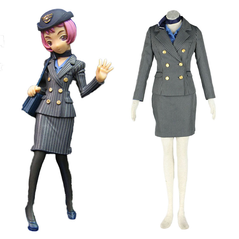Aviation Uniform Culture Stewardess 8 Cosplay Kostuums Nederland