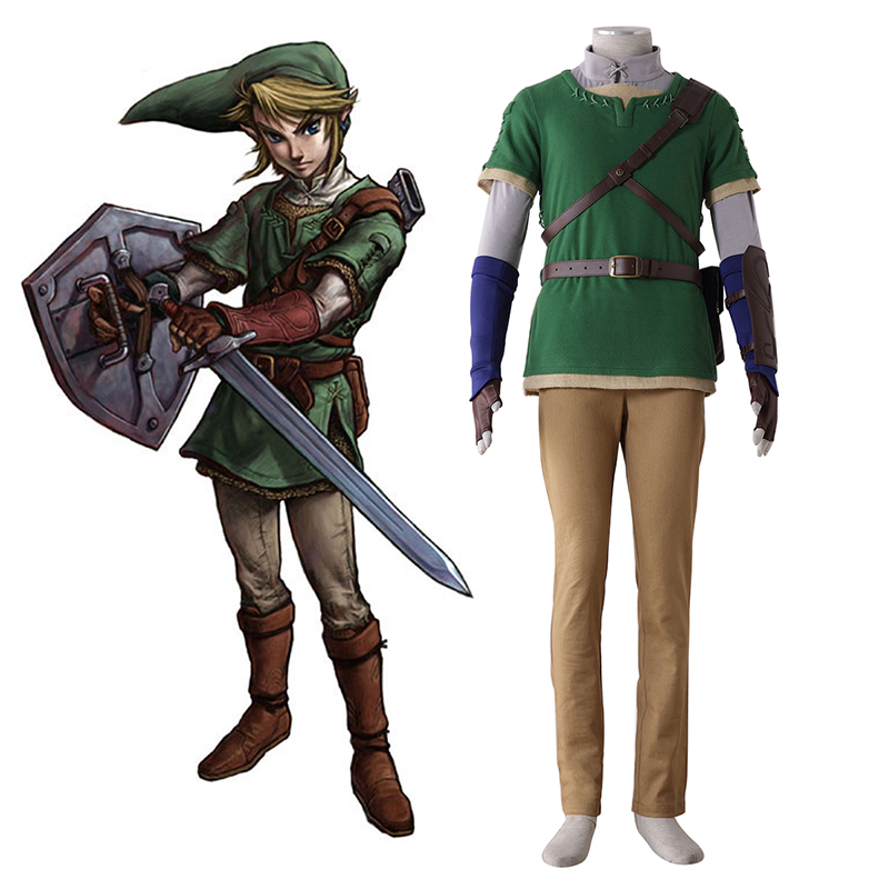 The Legend of Zelda Twilight Princess Link 4 Cosplay Kostuums Nederland