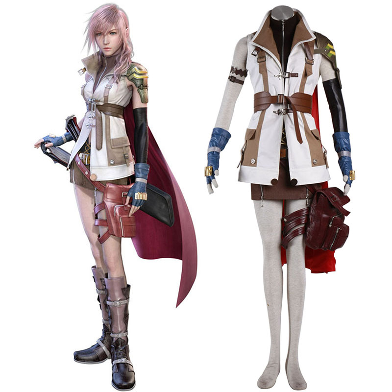 Final Fantasy XIII Lightning 1 Cosplay Kostuums Nederland
