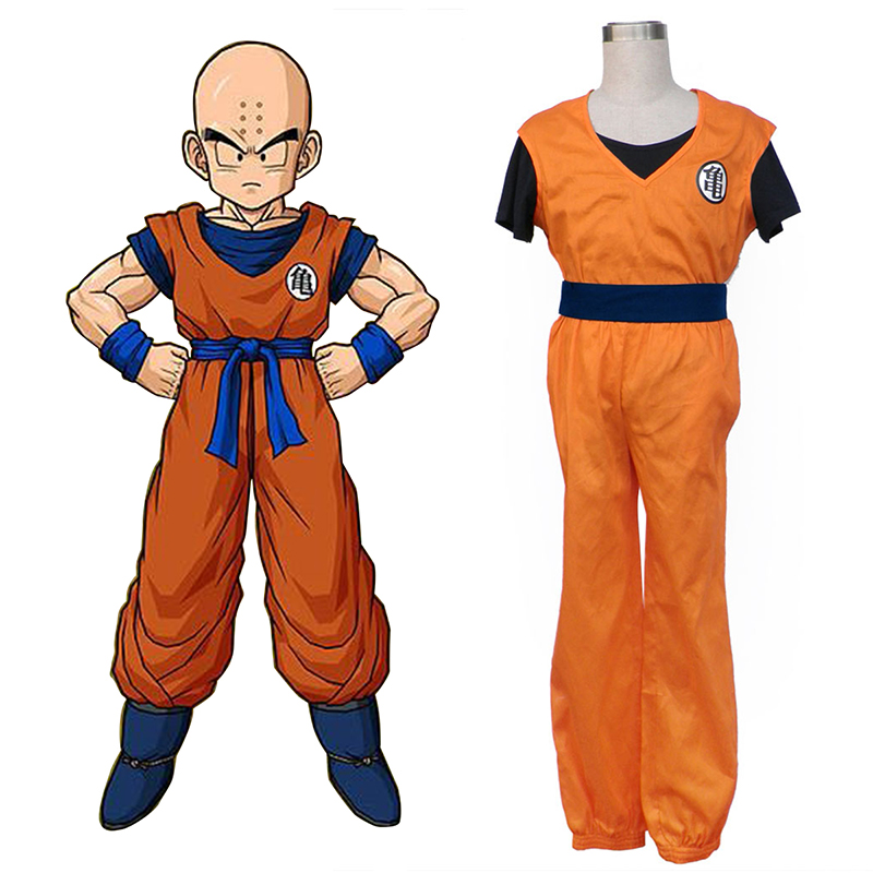 Dragon Ball Krillin Cosplay Kostuums Nederland