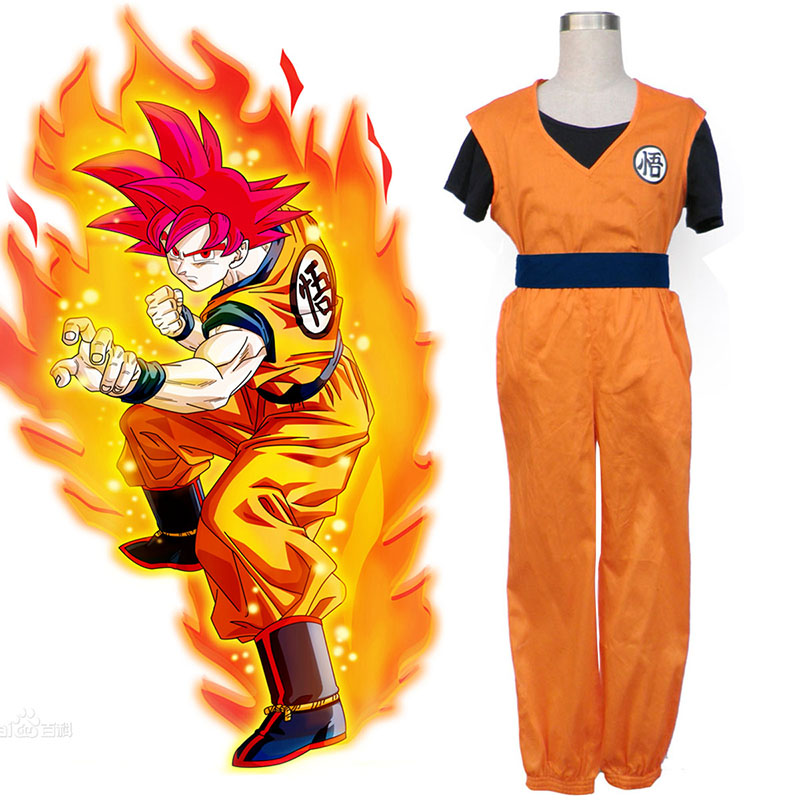 Dragon Ball Son Goku 2 Cosplay Kostuums Nederland