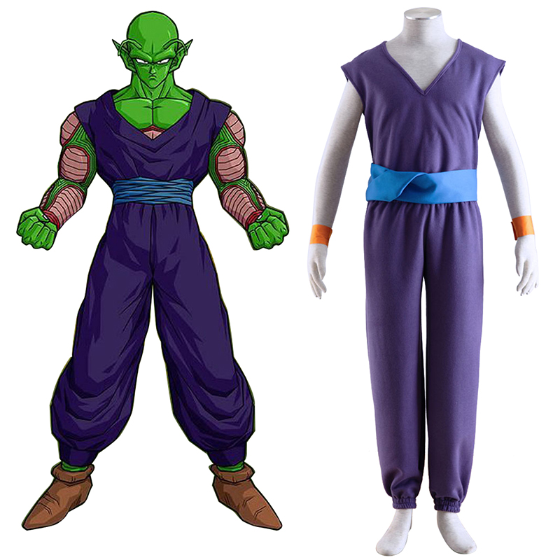 Dragon Ball Piccolo 1 Purple Cosplay Kostuums Nederland