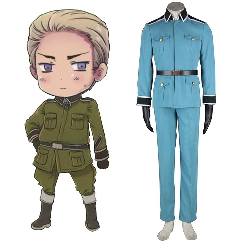 Axis Powers Hetalia Germany 1 Military Uniform Cosplay Kostuums Nederland