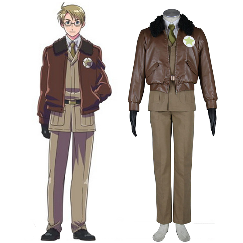 Axis Powers Hetalia APH America Alfred F Jones 1 Cosplay Kostuums Nederland