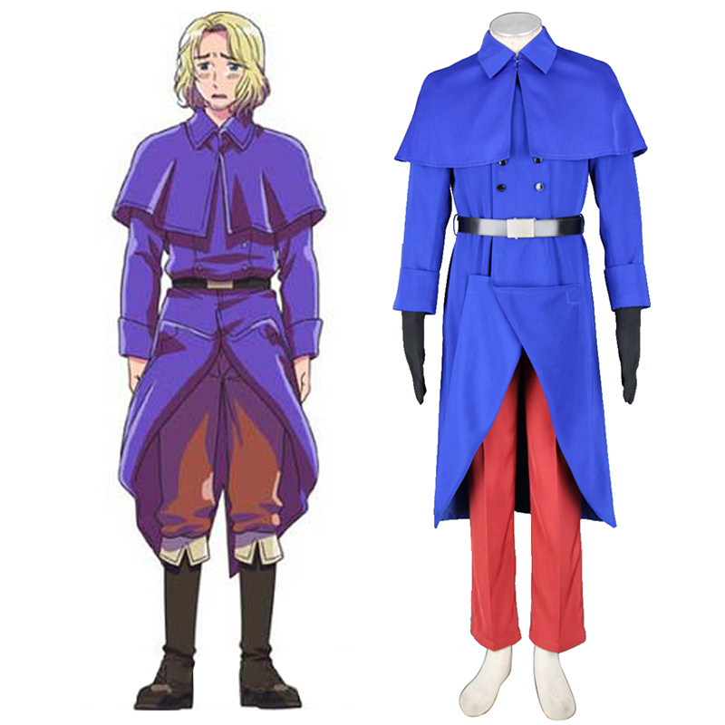 Axis Powers Hetalia France Francis Bonnefeuille 1 Cosplay Kostuums Nederland