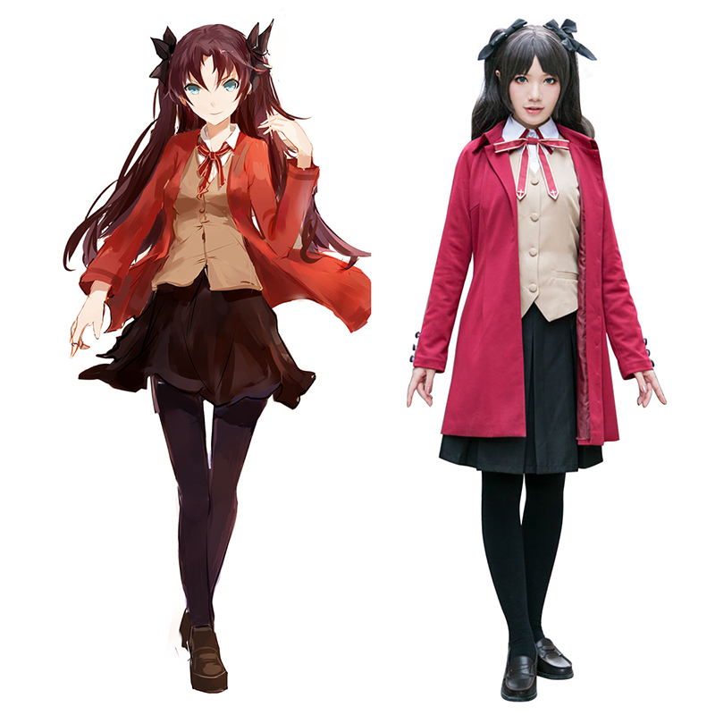 The Holy Grail War Tohsaka Rin 5 Cosplay Kostuums Nederland