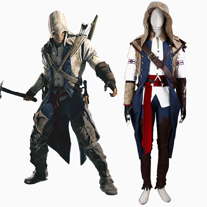 Assassin's Creed III Assassin 7 Cosplay Kostuums Nederland