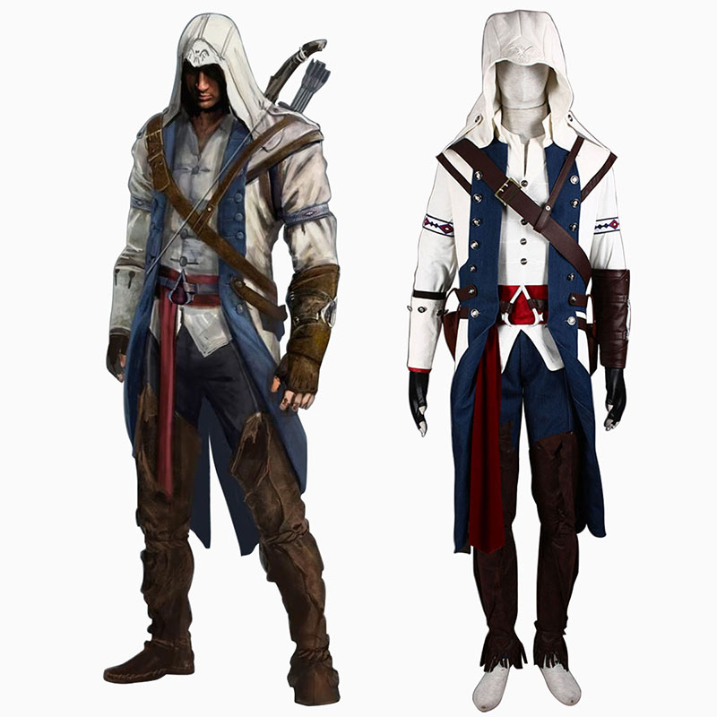 Assassin's Creed III Assassin 8 Cosplay Kostuums Nederland