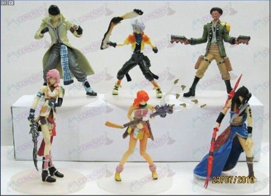 Limited Edition Final Fantasy Accessoires Doll (8-9cm Paperback)
