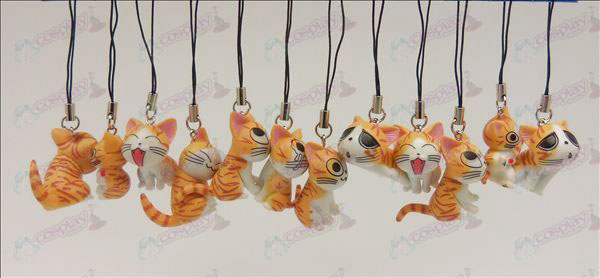 12 Sweet Cat Accessoires Toy Machine Band (Orange)