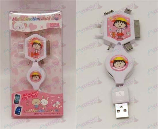 Multi Charging Cable (Chibi Maruko Chan Accessoires)