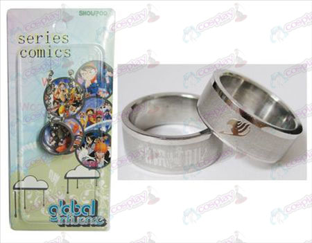 Fairy Tail Accessoires Frosted Ring-kaart geïnstalleerd