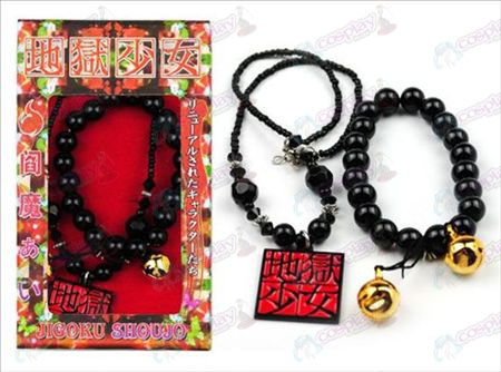 Verpakt Hell Girl Accessoires Ketting + armband