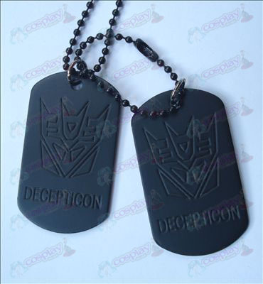 Transformers Decepticons Accessoires Ketting (Jane)