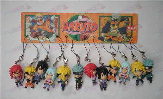 17 generaties 12 Naruto Doll Machine Rope