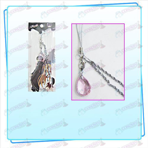 Sword Art Online Accessoires Yui Heart Crystal Strap (Pink)