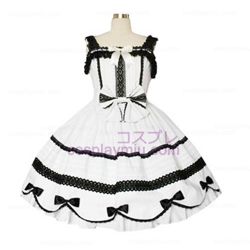 Lace Bijgeschoren Gothic Lolita Cosplay Dress