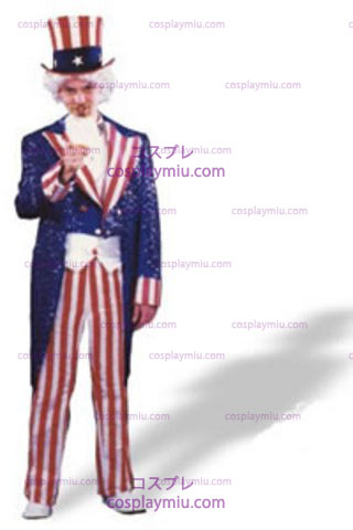 Uncle Sam Sequin Xlarge Deluxe