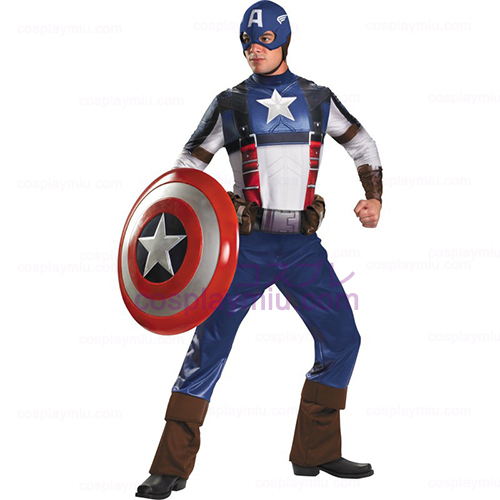 Captain America Film - Captain America Deluxe Adult Costume