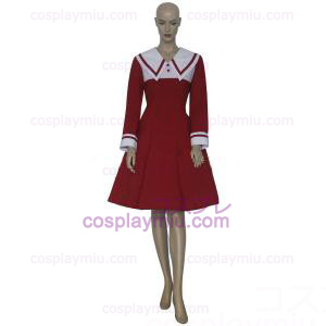 Chobits Chii Red Dress Cosplay Kostuum