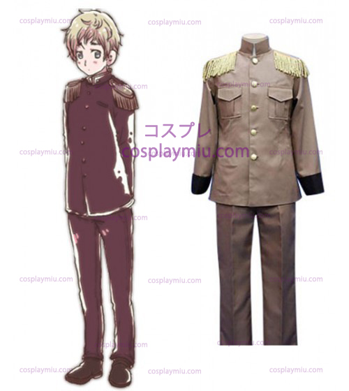 Hetalia: Axis Powers Letland Galante Cosplay Kostuum