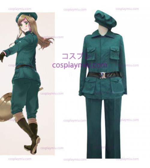 Hetalia: Axis Powers Hungary Halloween Cosplay Kostuum