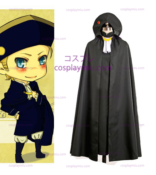 Hetalia: Axis Powers Heilige Roomse Rijk Cosplay Kostuum