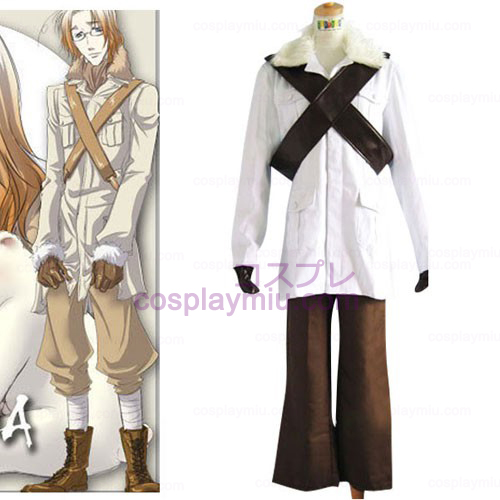 Hetalia Axis Powers Canada Matthew Halloween Cosplay Kostuum