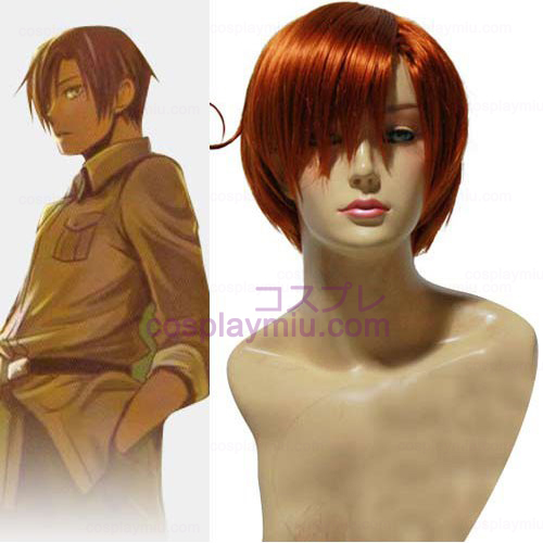 Axis Powers Hetalia Lovino Vargas Cosplay Pruik