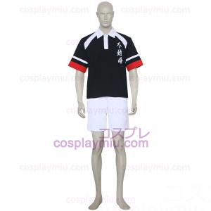 De Prince Of Tennis Fudomine Black and White Cosplay Kostuum