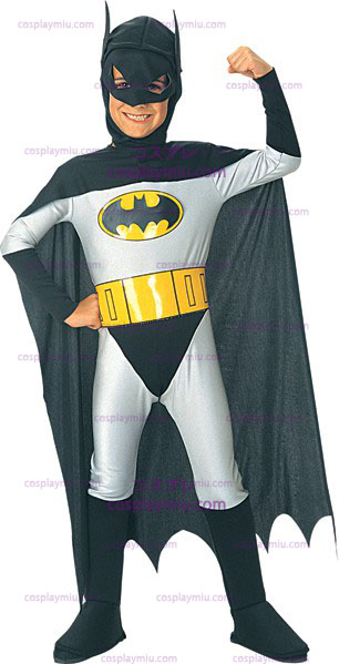 De Caped Crusader Batman Kostuum