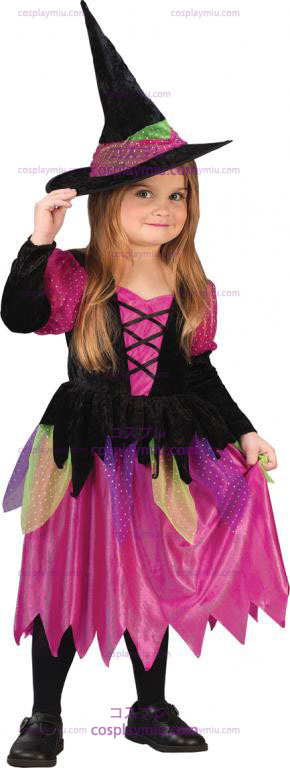 Rainbow Witch Peuter Costume