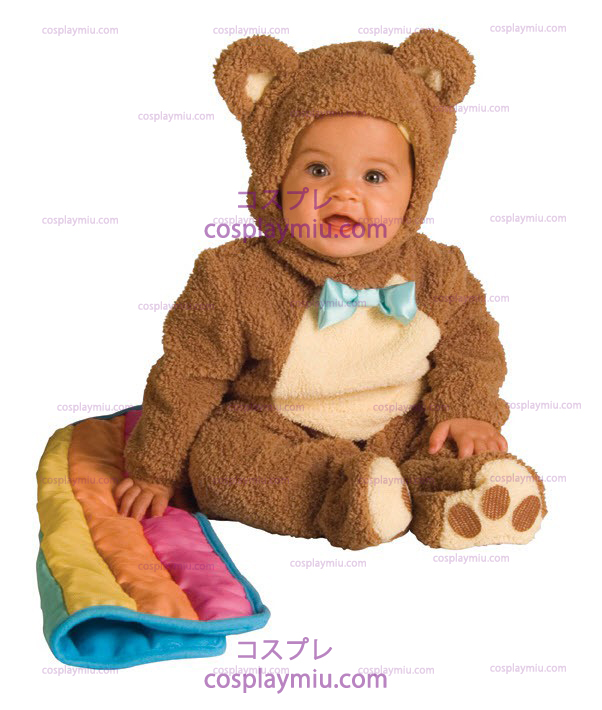 Teddybear Rainbow Infant Kostuum