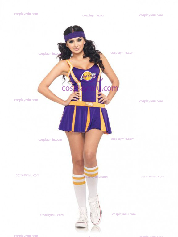 Lakers Cheerleader Volwassen Kostuum