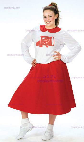 Vet Rydell Cheerleader Plus Size Kostuum