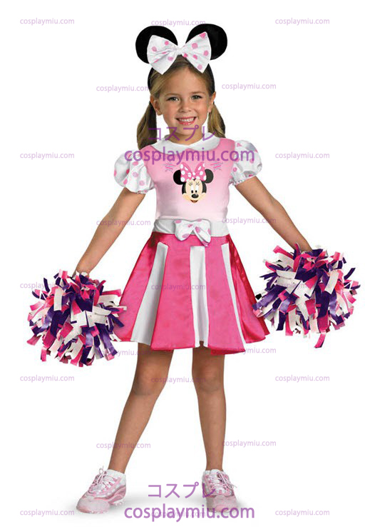 Minnie Mouse Cheerleader Peuter en Kind Kostuum