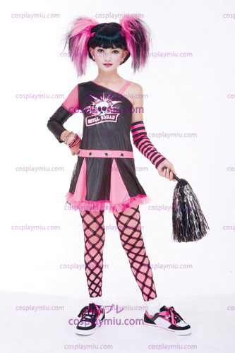 Gotische Cheerleader Child Costume