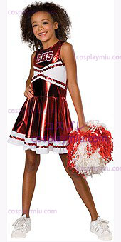 Goedkope Cheerleader High School Musical Kostuum